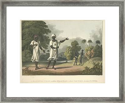 Mandingo Chief Framed Print by British Library