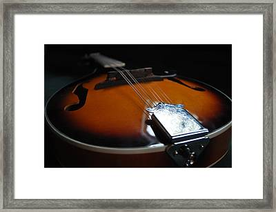 Mandolin Dreams Framed Print