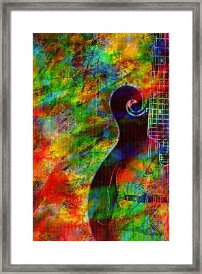 Mandolin Magic Framed Print