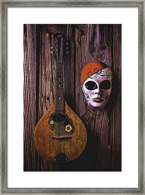 Mandolin Still Life Framed Print by Garry Gay