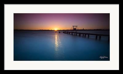 Mandurah Estuary Framed Prints