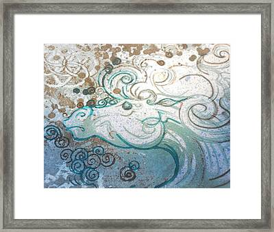 Mane View Framed Print by Corina Graves