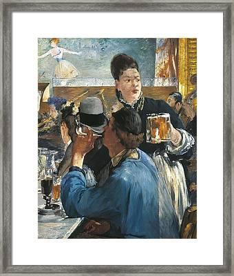 Manet, �douard 1832-1883. Corner Framed Print