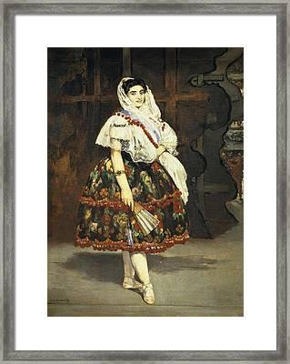 Manet, �douard 1832-1883. Lola De Framed Print by Everett