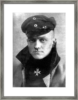 Manfred Von Richthofen Framed Print by Nara