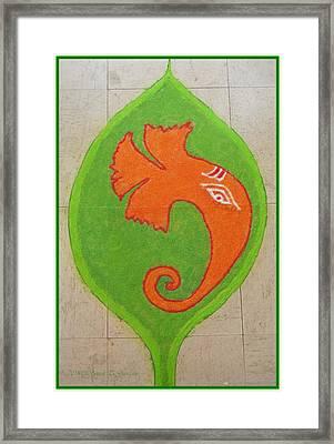 Mangalmurti Moraya Framed Print