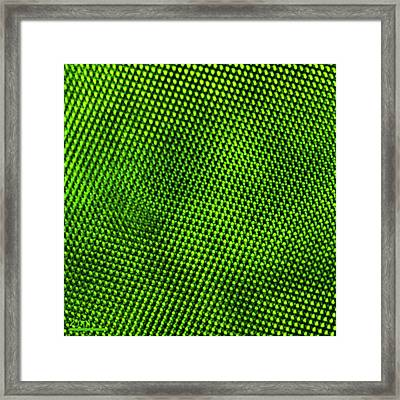 Manganese Oxide Nanoparticle Framed Print by Ammrf, University Of Sydney