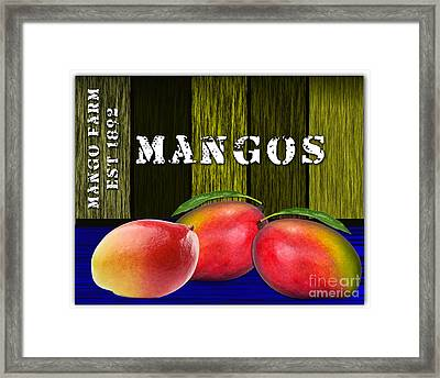 Mango Farm Framed Print by Marvin Blaine