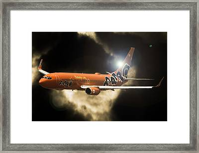 Framed Print featuring the photograph Mango by Paul Job