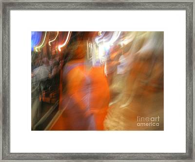 Mango Sureal Day Framed Print