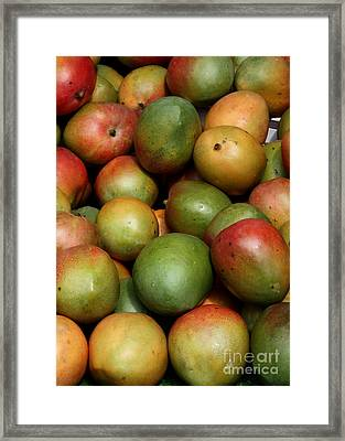 Mangoes Framed Print