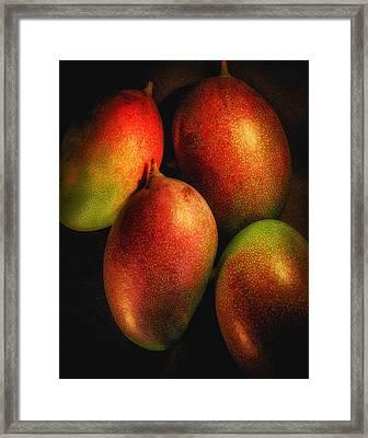 Mangos Framed Print by Scott Mullin