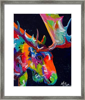 Mangy Moose Framed Print by Tracy Miller