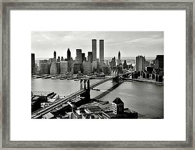 Manhattan 1978 Framed Print