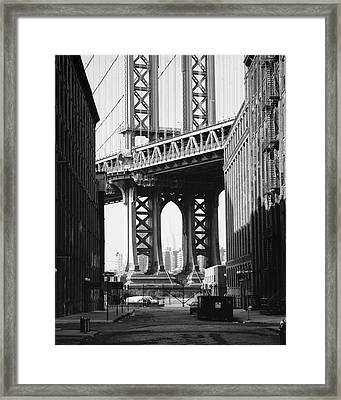Manhattan Bridge Framed Print