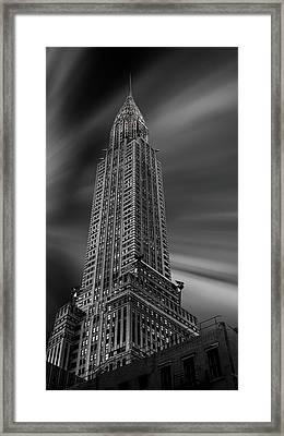 Manhattan (chrysler) Framed Print