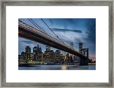Brooklyn Bridge Framed Art Prints Fine Art America