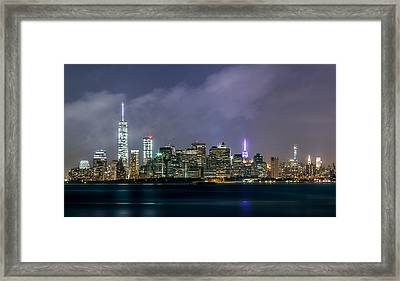 Manhattan Island  Framed Print