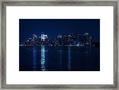 Manhattan Framed Print by Mark Ashkenazi