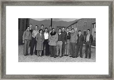 Manhattan Project, Segr�s Group Framed Print