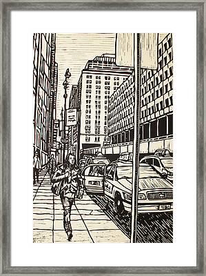 Manhattan Framed Print by William Cauthern