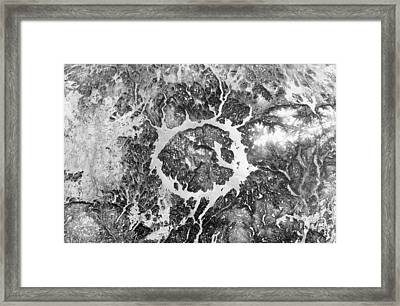 Manicouagan Crater Framed Print by Anonymous