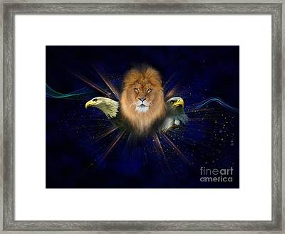 Manifold Presence Framed Print by Tamer and Cindy Elsharouni