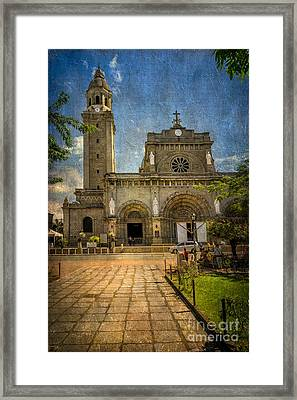 Manila Cathedral Framed Print