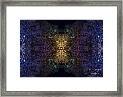 Manipura Framed Print by Tim Gainey