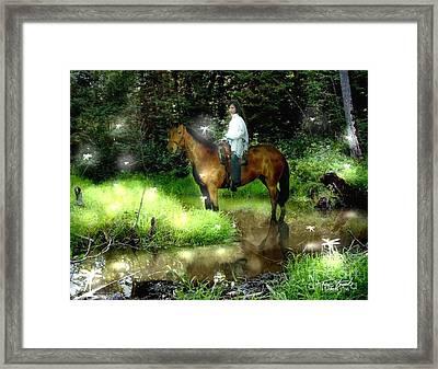 Manisay Creek  Framed Print
