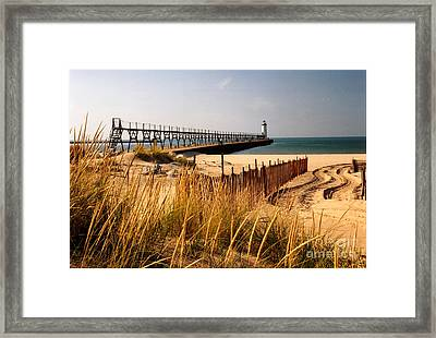 Manistee Lighthouse Framed Print