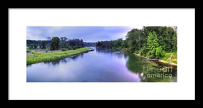 Manistee River Framed Prints