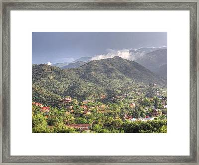 Framed Print featuring the photograph Manitou To The South I by Lanita Williams