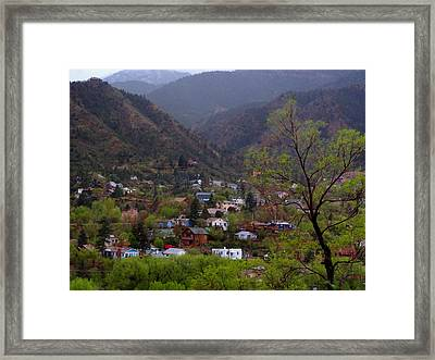 Framed Print featuring the photograph Manitou To The South IIi by Lanita Williams