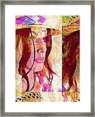 Mannequin 8 Framed Print by Maria Huntley