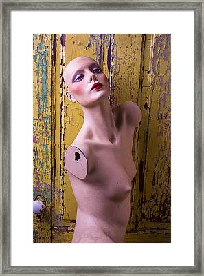 Mannequin Beauty Framed Print