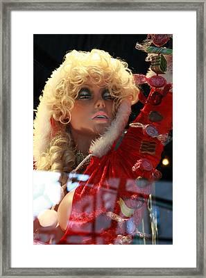 Mannequin Candy Framed Print