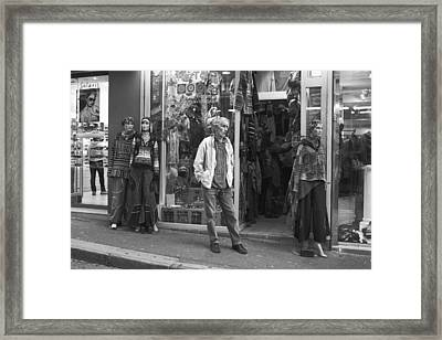 Mannequin Framed Print by Hugh Smith