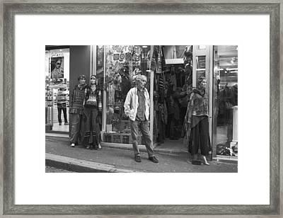 Mannequin Framed Print