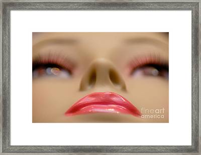 Mannequin Study 5 Framed Print by Amy Cicconi