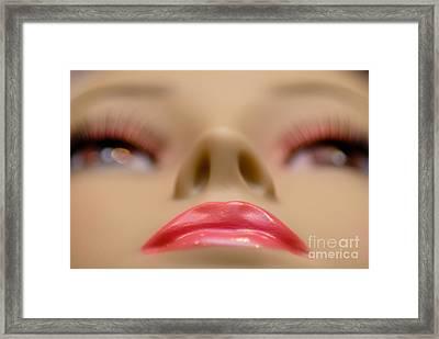 Mannequin Study 5 Framed Print