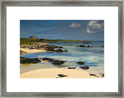 Mannin Bay Ireland Framed Print