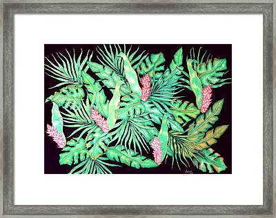 Manoa Framed Print by Thomas Gronowski