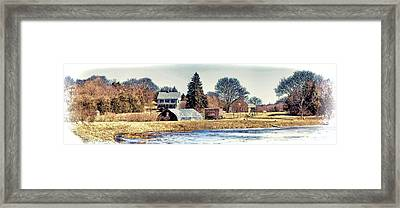 Framed Print featuring the photograph Manomet Farm by Constantine Gregory