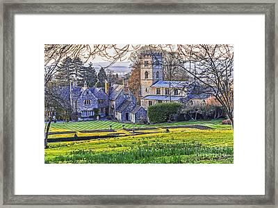Manor House Framed Print