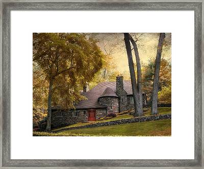 Manor House Framed Print