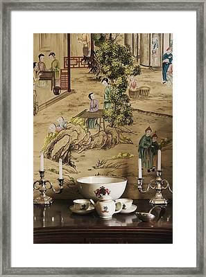Manor Interior Framed Print by Svetlana Sewell
