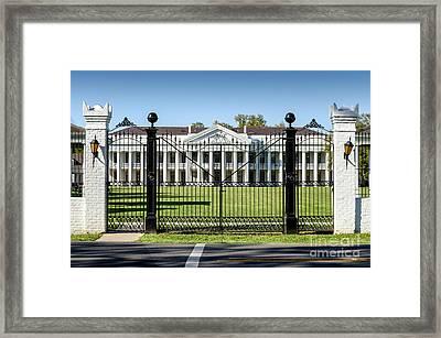 Manresa House Of Retreats In Convent Louisiana Framed Print