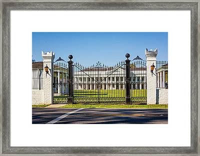Manresa House Of Retreats Framed Print by Steve Harrington
