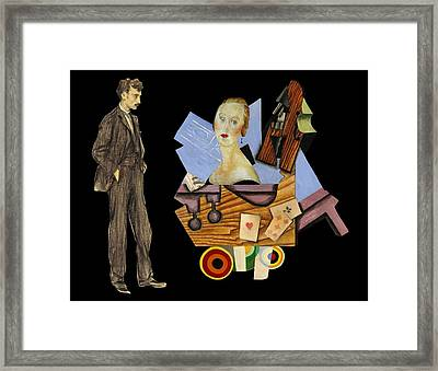 Man's Companion Framed Print by Laura Botsford